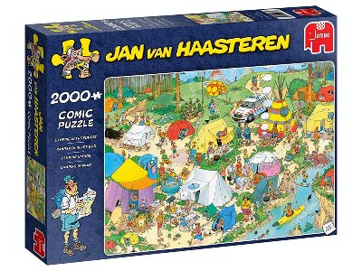 JVH CAMPING IN FOREST 2000pc