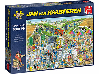 JVH THE WINERY 1000pc