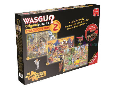 WASGIJ? COLLECTOR BOX2 3x1000p