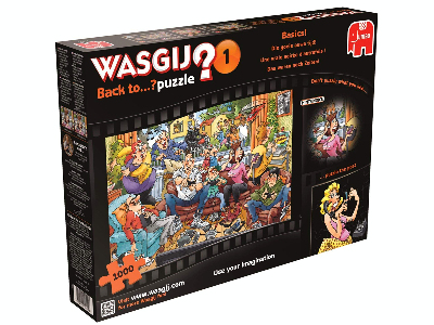 WASGIJ? BACK TO 1 1000pcs