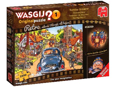 WASGIJ? RETRO ORIGINAL #1