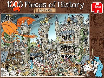 PIECES o/HISTORY CASTLE 1000pc