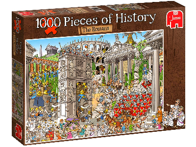 PIECES o/HISTORY ROMANS 1000pc