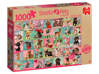 STUDIO PETS LOVELY DAY 1000pc