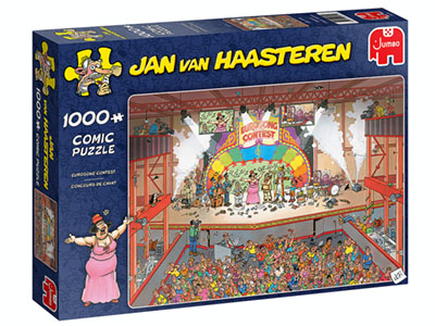 JVH EUROSONG CONTEST 1000pc