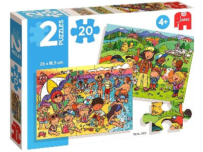 BEACH & EXCURSION 2 x 20pc SET