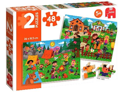 HORSE RIDING & PICNIC 2 x 20pc