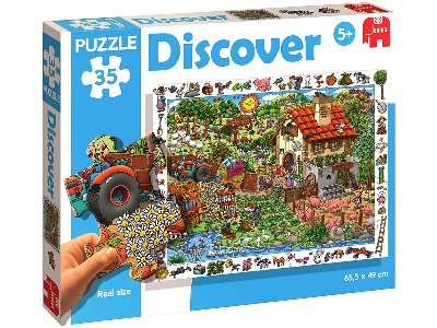DISCOVER FARM 35pc FLOOR PUZZL