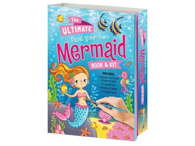 PAINT YOUR OWN MERMAID & BOOK