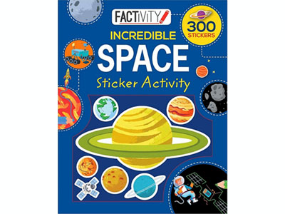 FACTIVITY STICKERS SPACE