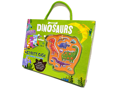 DINOSAURS ACTIVITY CASE