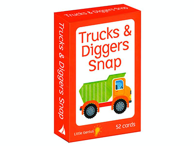 TRUCKS & DIGGERS SNAP LITTLE G