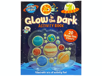 GLOW IN THE DARK ACTIVITY BOOK