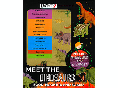 MEET THE DINOSAURS MAGNETIC