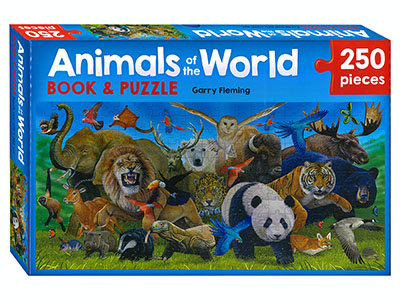 ANIMALS OF THE WORLD 250pc