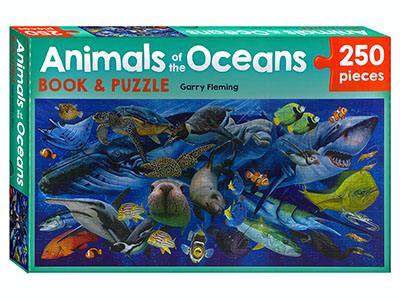 ANIMALS OF THE OCEAN 250pc