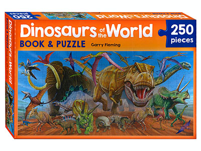 DINOSAURS OF THE WORLD 250pc