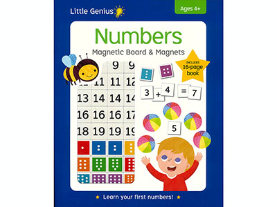 NUMBERS MAGNETIC BOARD