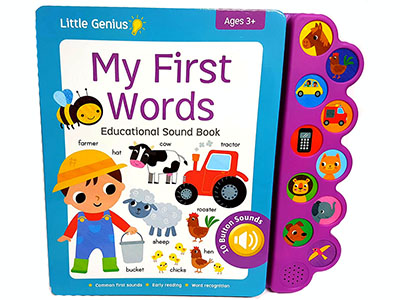 MY FIRST WORDS SOUND BOOK