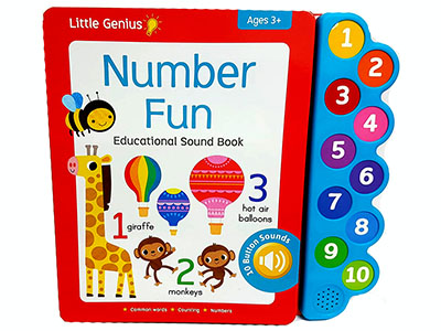 NUMBER FUN SOUND BOOK