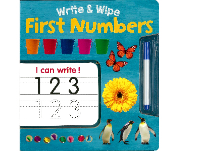 WRITE & WIPE FIRST NUMBERS