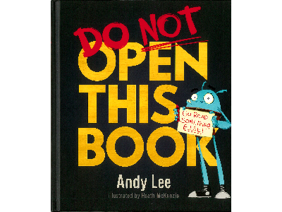 DO NOT OPEN THIS BOOK