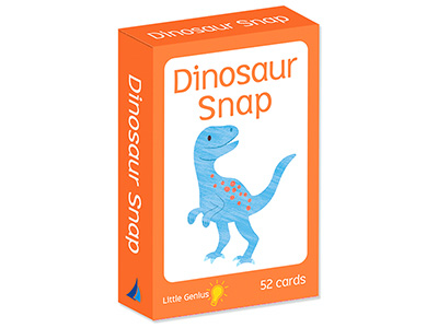 DINOSAUR SNAP LITTLE GENIUS