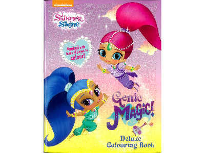 SHIMMER & SHINE COLOURING BOOK
