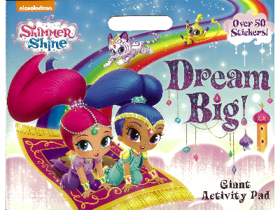 SHIMMER & SHINE ACTIVITY PAD