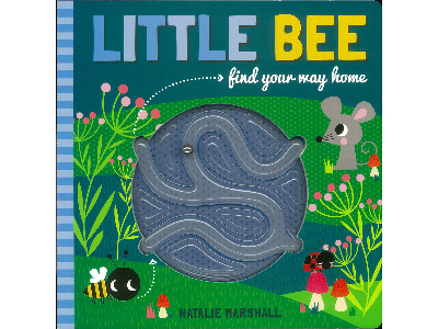 LITTLE BEE MAZE BOOK