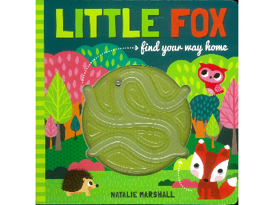 LITTLE FOX MAZE BOOK