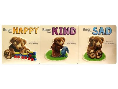 BEAR HAPPY KIND SAD COLLECTION