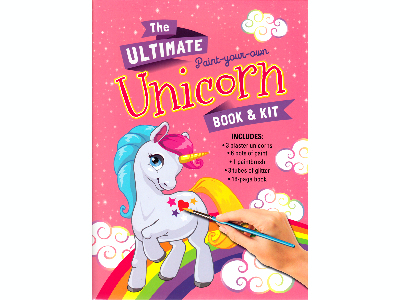 ULTIMATE PYO UNICORN BOOK & KI