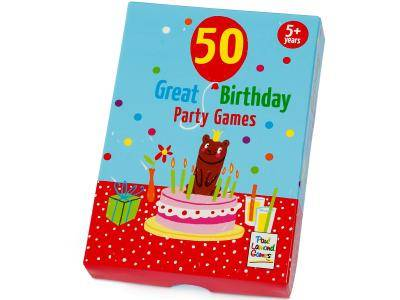 50 BIRTHDAY PARTY GAMES