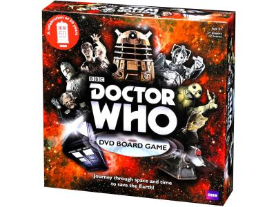 DR WHO DVD 50th ANN.BOARD GAME