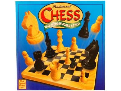 CHESS SOLID WOOD 29cm