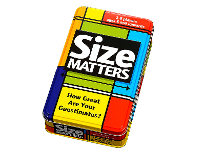 SIZE MATTERS CARD GAME