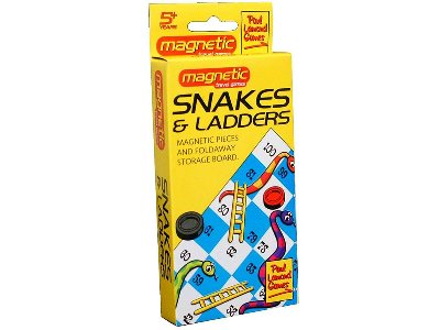 TRAVEL MAGNETIC SNAKES&LADDERS
