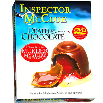 MURDER MYSTERY DEATH CHOCOLATE