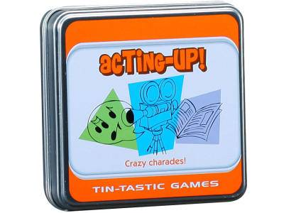 TIN-TASTIC ACTING-UP!