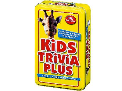TRIVIA TIN, KIDS PLUS