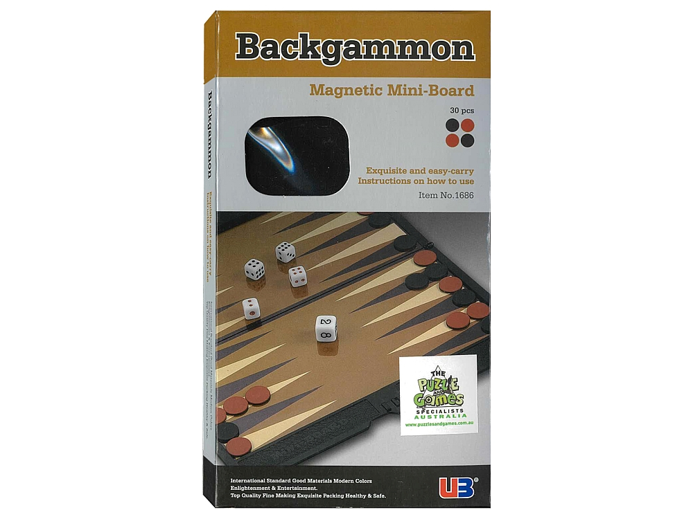 BACKGAMMON MINI-BOARD WALLET
