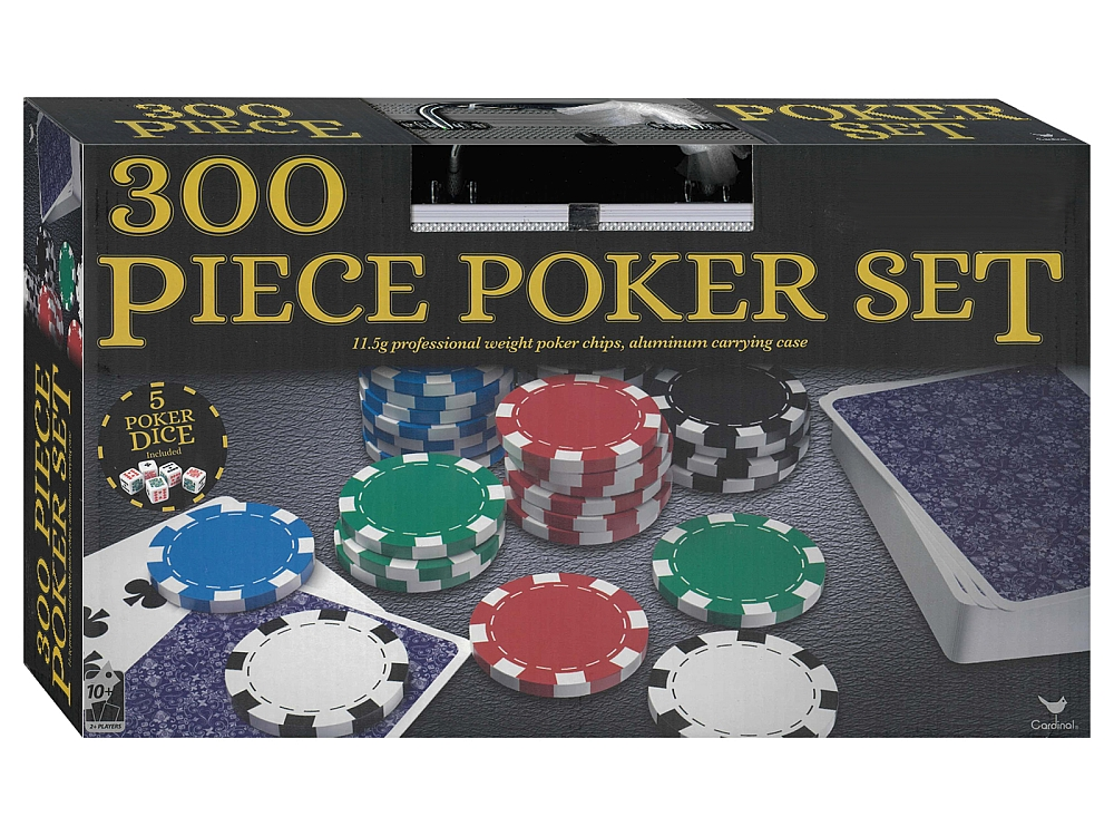 300 PIECE POKER SET Cardinal