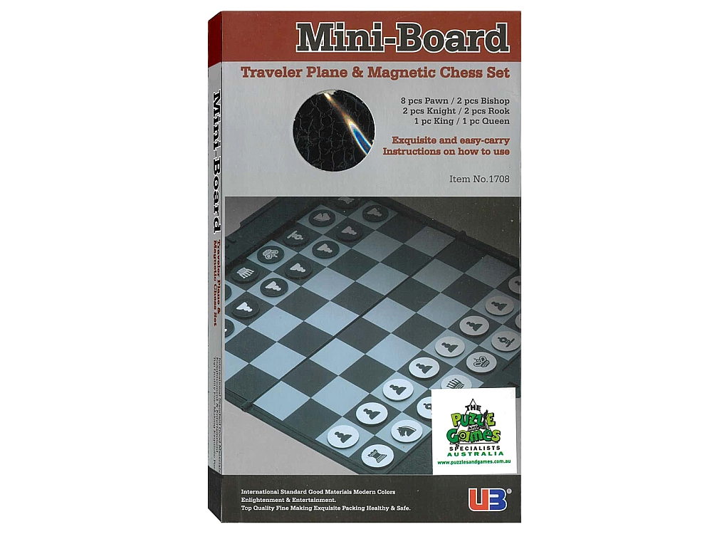 "CHESS MINI-BOARD 6.5"" WALLET"