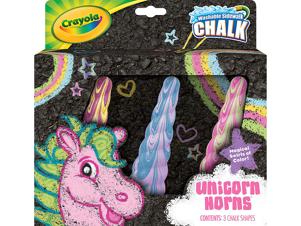 3ct UNICORN SIDEWALK CHALK