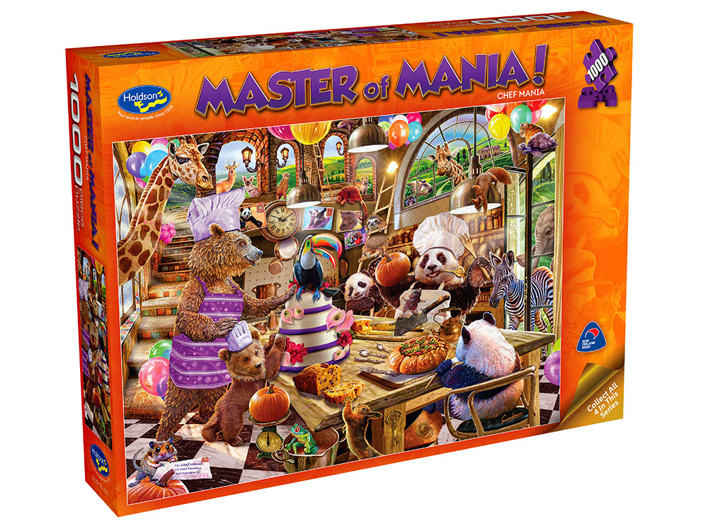 MASTER OF MANIA! 1000pc CHEF due April