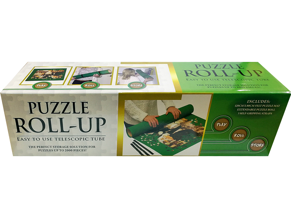 PUZZLE ROLL-UP (Crown) 2000pc