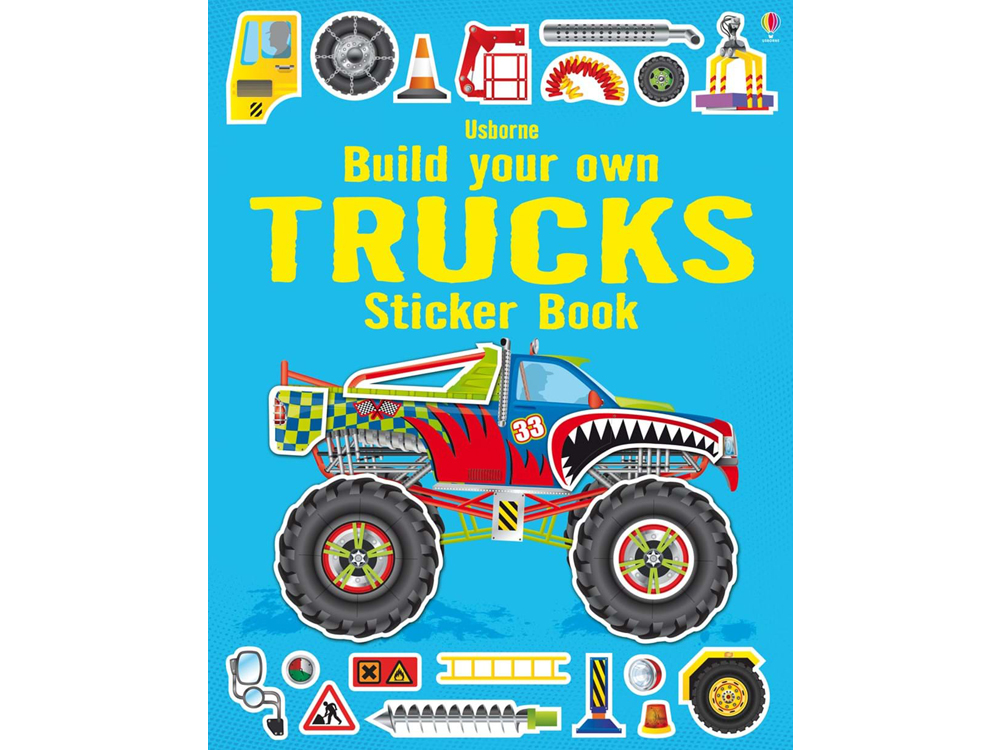 BYO TRUCKS STICKER BOOK