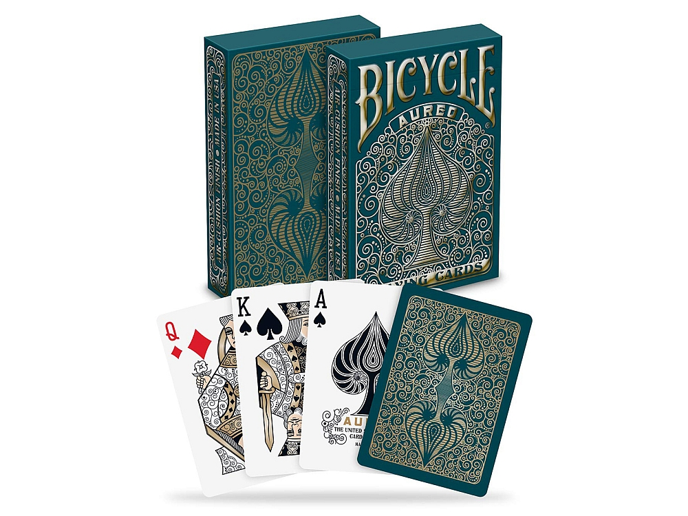 BICYCLE POKER AUREO,FOIL