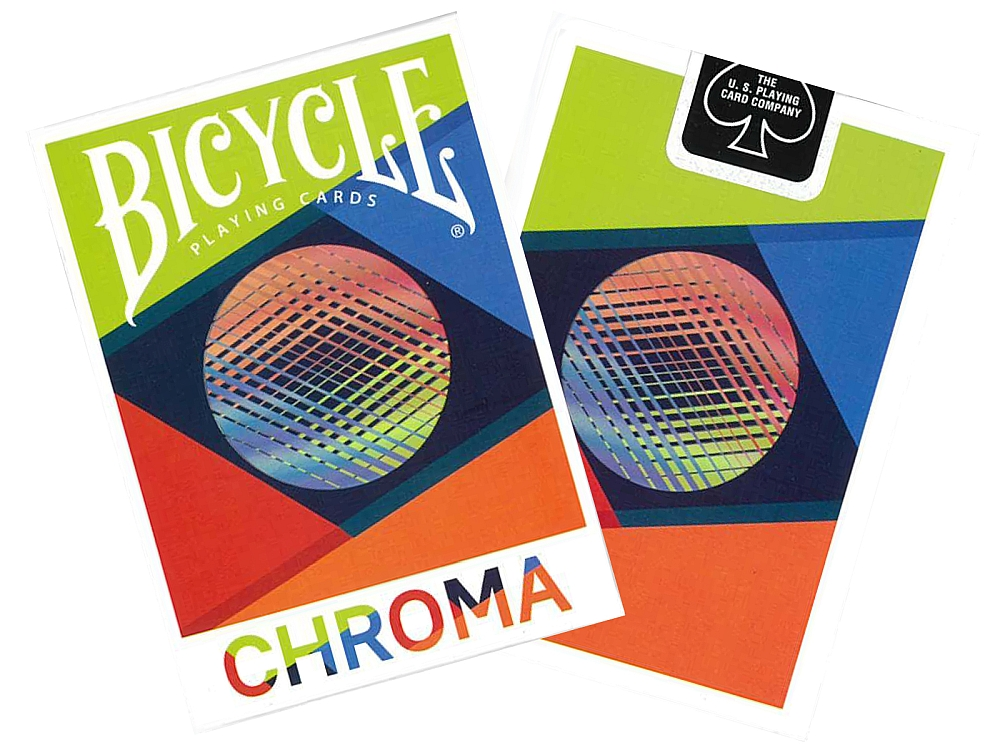 BICYCLE POKER CHROMA FOIL
